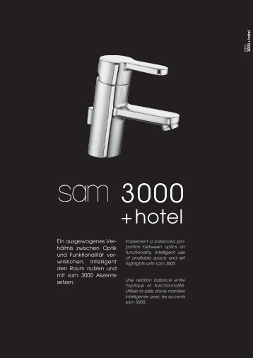sam 3000 + hotel