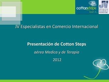 JV Especialistas en Comercio Internacional Presentación de Cotton ...