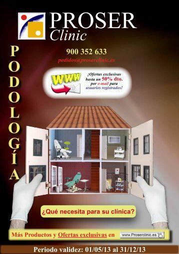 Catálogo PDF - PROSER Clinic