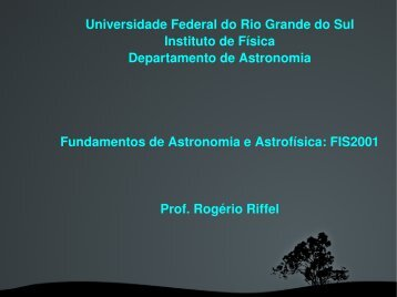 Universidade Federal do Rio Grande do Sul Instituto de Física ...