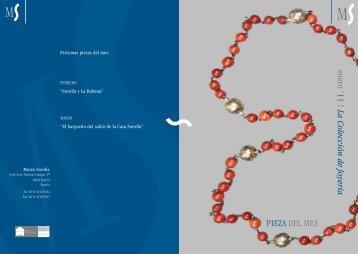 PIEZA DEL MES enero '11 | La Colección de Joyería - Museo Sorolla
