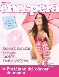 Protéjase del cáncer de mama - Revista Enespera