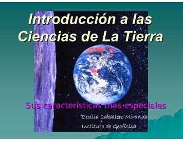 Introducción a las Ciencias de La Tierra - UNAM