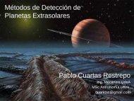 Métodos de Detección de Planetas Extrasolares