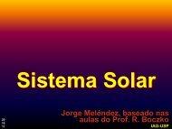 Sistema Solar - USP