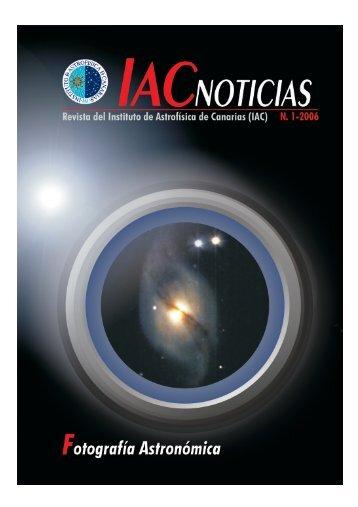 Instituto de Astrofísica de Canarias (IAC) IAC NOTICIAS, 1-2006 ...
