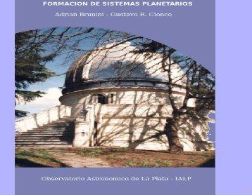 Formación de sistemas planetarios: recientes resultados y futuros