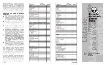 Lista de Inventario para la Casa