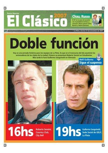 Chau, Russo - Diario Hoy