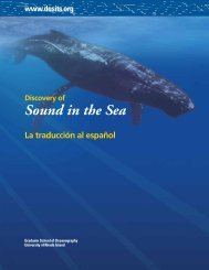 Importancia del Sonido en el Mar - Discovery of Sound in the Sea