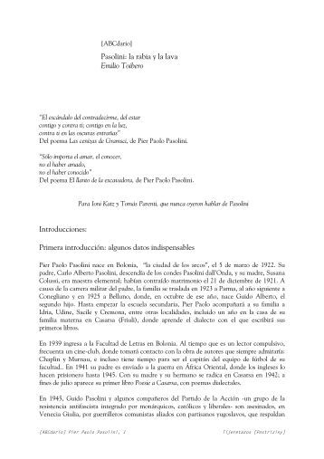 Word Pro - Abecedario Pasolini.lwp - Tijeretazos