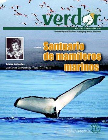 Revista Verdor - Academia de Ciencias RD