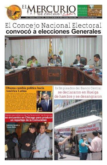 El Concejo Nacional Electoral - El Mercurio de chicago