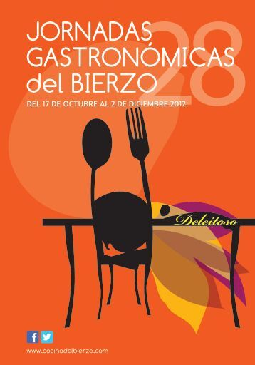 Programa XXVIII Jornadas Gastronómicas del Bierzo - Consejo ...