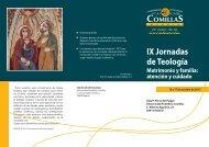 IX Jornadas de Teología - Universidad Pontificia Comillas