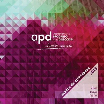 calendario completo de jornadas, seminarios y cursos - APD