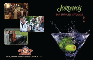 Bar supplies catalog 2012