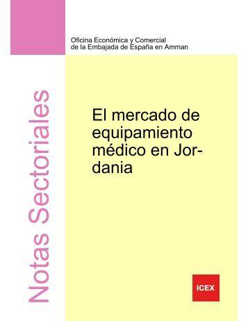 El mercado de equipamiento médico - Icex