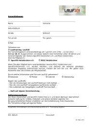 Anmeldeformular zum Download - RSLC Holzkirchen eV