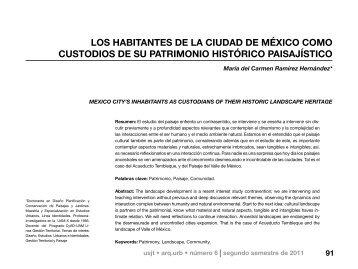 los habitantes de la ciudad de méxico como custodios de su ...