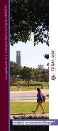   Guía para Padres de Familia 2012-2013 - Admissions - Texas A&M ...