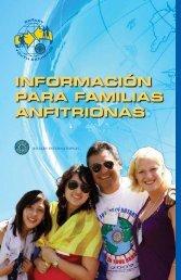 INFORMACIóN PARA FAMILIAS ANFITRIONAS - Rotary International