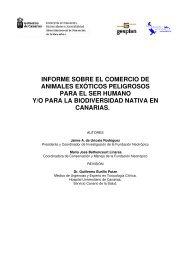 informe sobre el comercio de animales exóticos ... - Interreg Bionatura