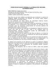 ATENCIÓN EN SALUD INTEGRAL A LA POBLACIÓN ... - Cepal