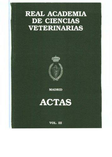 La Real Academia de Ciencias Veterinarias recibida en Audiencia ...