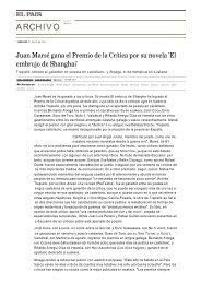 Juan Marsé gana el Premio de la Crítica por su novela 'El embrujo ...