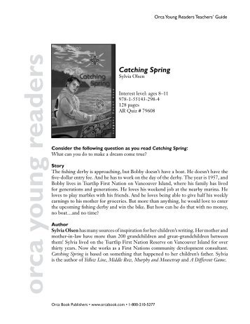 Catching Spring - Orca Book Publishers