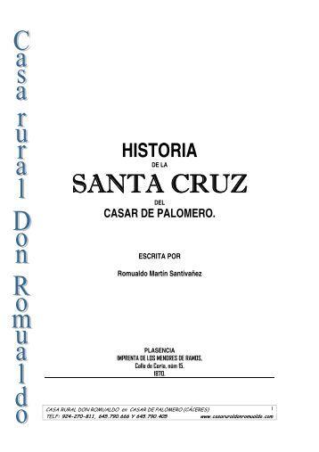 historia de la Santa Cruz - Casa Rural Don Romualdo