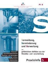 Praxisinfo 5 - Betrieblicher Umweltschutz in Baden-Württemberg