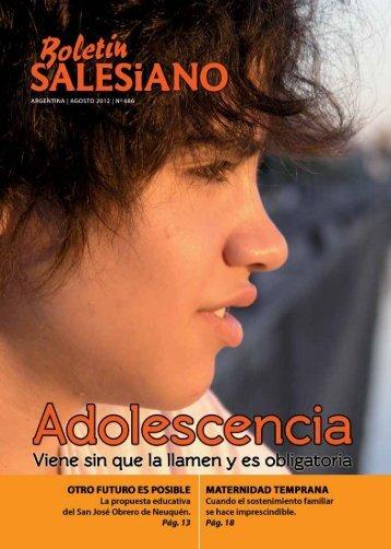 """hacia las """"nuevas Fronteras"""" - Boletín Salesiano"""