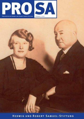 Hedwig und Robert Samuel-Stiftung - Samuel.de