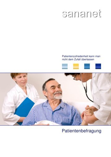 Patientenbefragung - Sananet GmbH