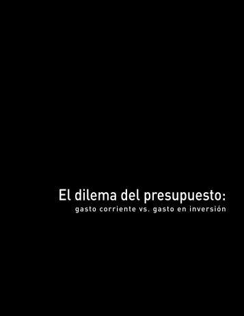 7. El dilema del presupuesto - Instituto Mexicano para la ...