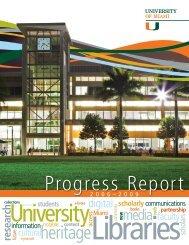 Progress Report - University of Miami Libraries