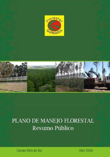 Resumo Plano de Manejo_2009_Internet - Florestal Gateados