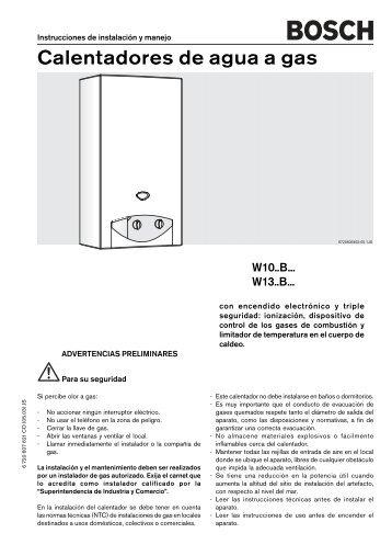 El mercado de los calentadores de agua por - Calentadores a gas ...