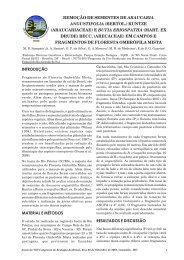 remoção de sementes de araucaria angustifolia (bertol.) kuntze