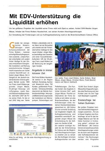 Mit EDV-Unterstützung die Liquidität erhöhen - Sander und Doll AG