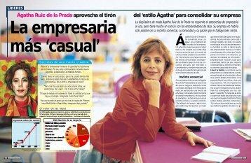 Ágatha Ruiz de la Prada aprovecha el tirón del ... - Emprendedores