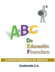 ABC De Educación Financiera (SIB). - Citibank Guatemala