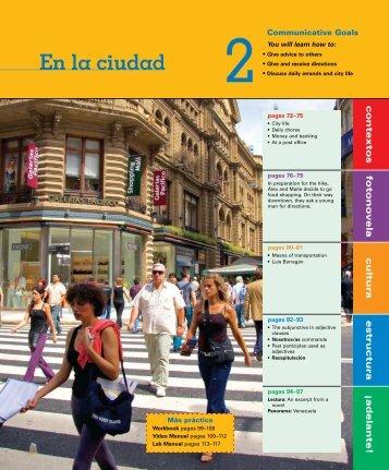 En la ciudad - Vista Higher Learning