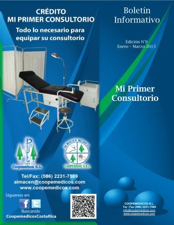 Boletín Informativo Mi Primer Consultorio - Coopemédicos