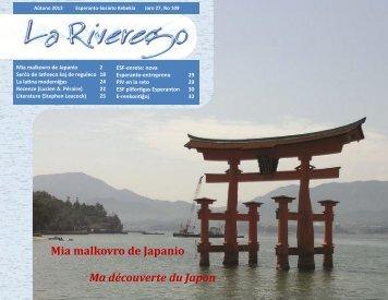La Riverego 109 - Société québécoise d'espéranto