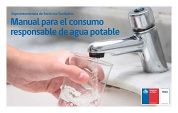 Manual para el consumo responsable de agua potable - Siss