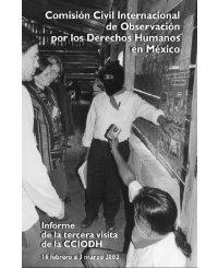 informe completo - Comisión Civil Internacional de Observación por ...