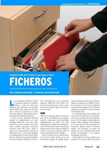 Compartición de Ficheros: [PDF, 1027 kB] - Linux Magazine